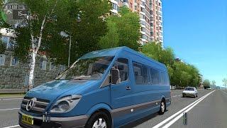 getlinkyoutube.com-City Car Driving 1.4.0 Mercedes-Benz Sprinter 313 CDI [1080P]