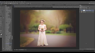 Florabella Trinity Photoshop Actions Video #12