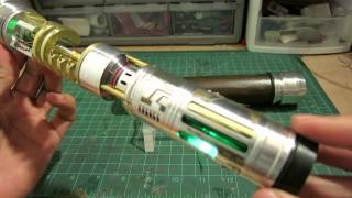 "getlinkyoutube.com-ArkLight Arsenal Build Log Video --""Rhabdos"" custom lightsaber by Goodman"