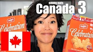 getlinkyoutube.com-Emmy Eats Canada 3 - tasting more Canadian treats