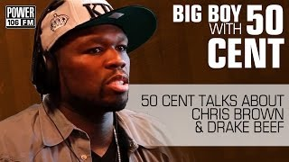 getlinkyoutube.com-50 Cent talks about Chris Brown & Drake Beef