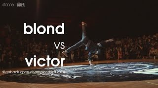 getlinkyoutube.com-Blond vs Victor // .stance // [1v1] Silverback Open // UDEFtour.org 2014
