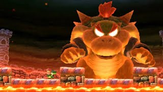 Yoshi's New Island (3DS) - Final Boss and Ending