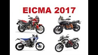 Top 6 Adventure Motorcycle brands in EICMA 2017 - What to expect in 2018?