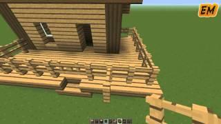 getlinkyoutube.com-MINECRAFT: Como hacer una casa bonita y sencilla! | Tutorial de Construccion!