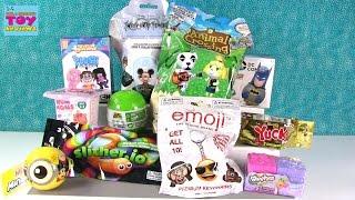 getlinkyoutube.com-Disney Slither.io Shopkins Minions Mineez Animal Crossing Opening | PSToyReviews