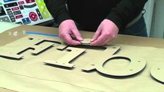 getlinkyoutube.com-Three Dimensional Signage with the Quick Snap System