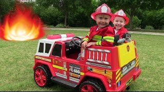 getlinkyoutube.com-Little Heroes 2 - The New Fire Engine, The Mayor and The Spark