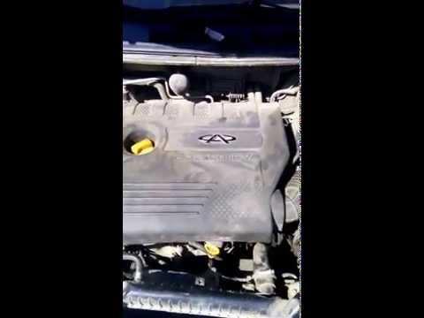 Проверка двигателя Vortex Estina Chery Fora SQR484F