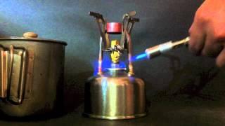 getlinkyoutube.com-AZ-1218 Copper Coil Alcohol Stove