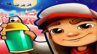 getlinkyoutube.com-Subway Surfers North Pole iPad Gameplay