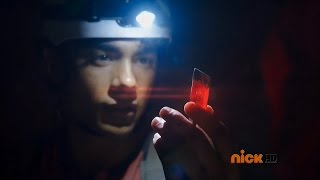 getlinkyoutube.com-Power Rangers Dino Charge - Powers From The Past - Tyler finds the Red Energem