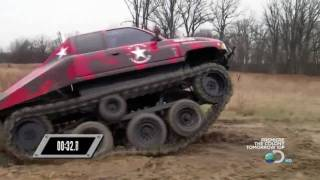 getlinkyoutube.com-Prowler Over The Tire Tracks On Discovery Channels Ultimate Car Build Off Episode 6