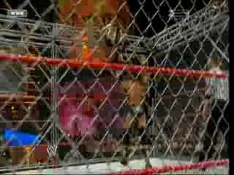 triple h vs randy orton steel cage for world title part3
