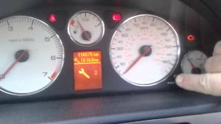 getlinkyoutube.com-Service lamp reset in Peugeot 407