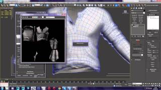 getlinkyoutube.com-Baking Normal Map in 3ds Max from ZBrush Model
