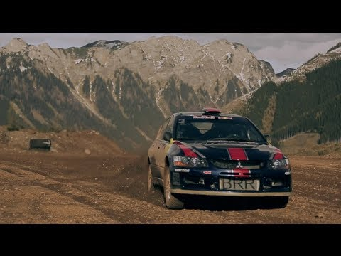 Taddy Blazusiak's Rally Car Test Drive - Erzberg 2012