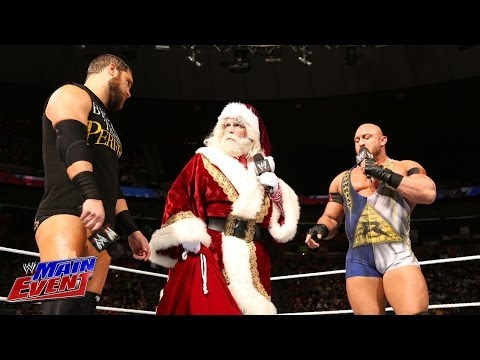 Ryback & Curtis Axel confront Santa Claus: WWE Main Event, Dec. 18, 2013