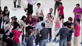 getlinkyoutube.com-Singapore Proposal 2014 @ Jcube- The Rink (Defa + Joleen)