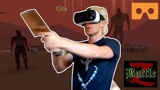 """getlinkyoutube.com-Best Google Cardboard VR Game Multiplayer co-op """"BattleZ VR"""""""