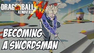 getlinkyoutube.com-Dbz Xenoverse Brodventure begins Ep 2 - I am a swordsman!