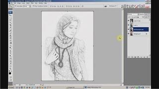 getlinkyoutube.com-Cara membuat efek sketsa pada photoshop cs3