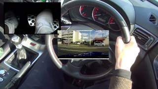 getlinkyoutube.com-MT運転 交差点発進時1速から2速に素早くシフトアップする動画