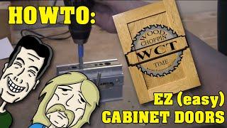 getlinkyoutube.com-How to make (easy) EZ  cabinets doors