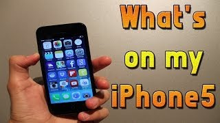 What's on my iPhone 5 : iOS 7 Edition ! ( November 2013)