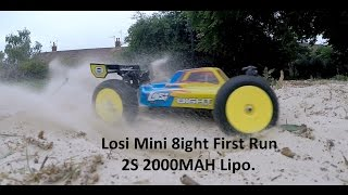 getlinkyoutube.com-Losi Mini 8ight AVC Running Video