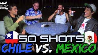 getlinkyoutube.com-► RETO 50 SHOTS | Chile vs Mexico | Dejen algo y Polinesios