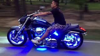 getlinkyoutube.com-LED Wheel Glow Suzuki M109