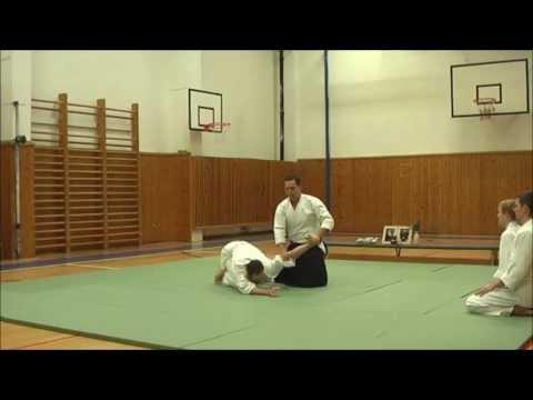 Iwama Aikido Prague Vanocni Demo 2013