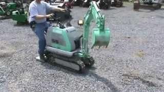 getlinkyoutube.com-Kobelco SS Mini Excavator Compact Mini 2 Speed AWSOME LITTLE MACHINE FOR SALE MARK SUPPLY CO