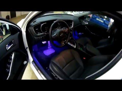 Подсветка салона автомобиля Kia Optima