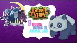 getlinkyoutube.com-Animal Jam: 9 Hidden Things on Animal Jam!