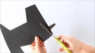 getlinkyoutube.com-Como fazer: Máscara do Batman EVA
