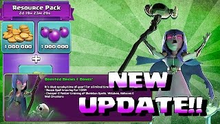 getlinkyoutube.com-Clash Of Clans - NEW UPDATE!!! SKELETON w/ 1 GEM BOOST (Halloween is Coming)