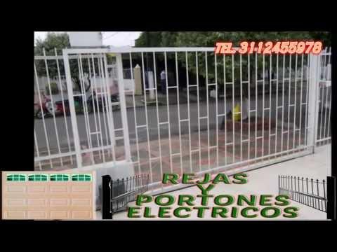 Rejas y Portones Electricos americanos