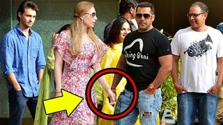 getlinkyoutube.com-Salman Khan Confirms MARRIAGE With Girlfriend Lulia Vantur? Seen With Family On Rakhi