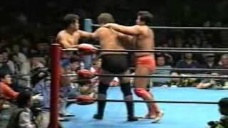 1998年12月05日 小橋健太&秋山準 vs スタン・ハンセン&ベイダー 世界最強タッグ優勝戦