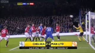 getlinkyoutube.com-Chelsea 5-4 Manchester United (3-3) 31/10/2012 Full Highlights Capital One Cup
