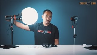 getlinkyoutube.com-CAME-TV Boltzen 55w 30w Compact LED Fresnel Video Lights