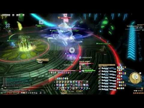 FFXIV : ARR - The Second Coil of Bahamut - Melusine Turn 7 (Black Mage PoV) By EG