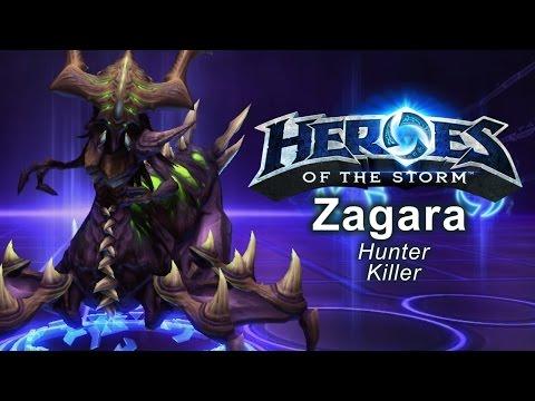 Heroes of the Storm - 'Hunter Killer' Zagarra Build