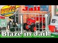 BLAZE AND THE MONSTER MACHINES Nickelodeon Blaze Goes to Jail a Blaze Video Parody