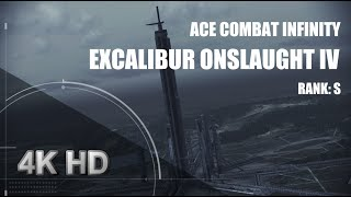 getlinkyoutube.com-Ace Combat Infinity: Excalibur Onslaught IV (S Rank) 4K HD