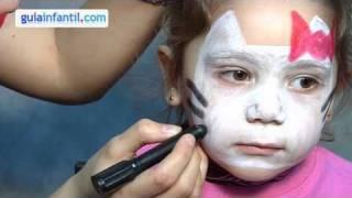 getlinkyoutube.com-Hello Kitty makeup for kids