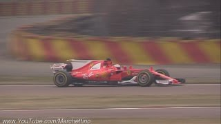 getlinkyoutube.com-2017 Ferrari F1 SF70H First Shakedown & Engine Sound!