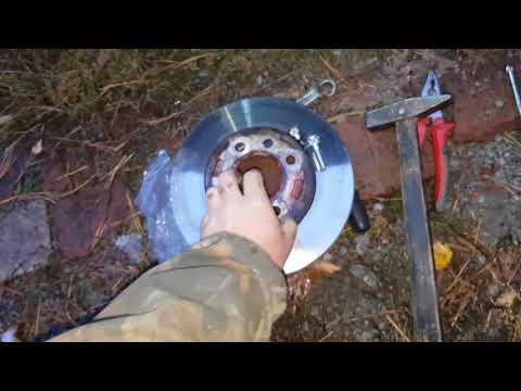 Замена шпильки переднего колеса киа рио 2010